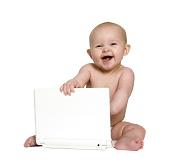 laptop baby
