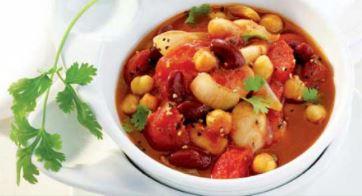 Mexicaanse tomaten bonensoep